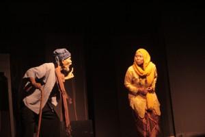 """Pementasan """"Lelaki Tua dan Ibu Sepuh Ratu Rita"""" Teater Sado Kuningan"""