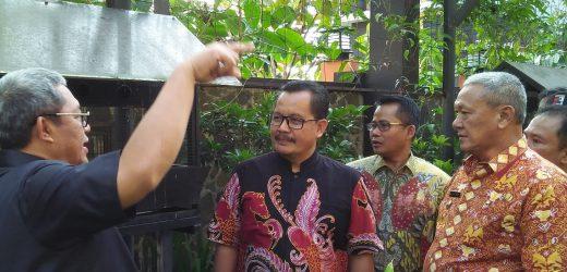 Kunjungan Gubernur Jawa Barat ke SMA Negeri 3 Kuningan didampingi Kadisdik Provinsi Jawa Barat dan Bupati Kuningan